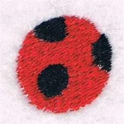 Ladybug Foot embroidery design