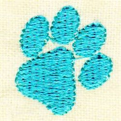 Puppy Paw embroidery design
