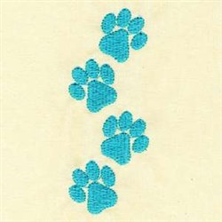 Puppy Prints embroidery design