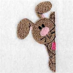 Bunny Pocket embroidery design