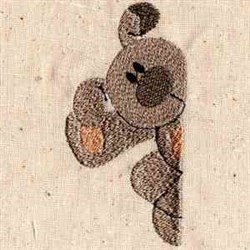 Puppy Pocket embroidery design