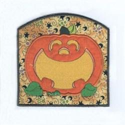 Bag Pumpkin Applique embroidery design
