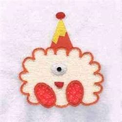 Applique Monster Hat embroidery design