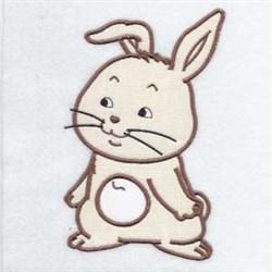 Applique Rabbit embroidery design