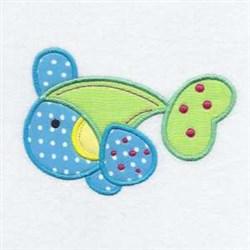 Fish Applique Friend embroidery design