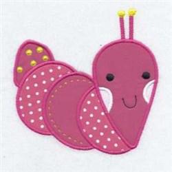 Slug Applique Friend embroidery design