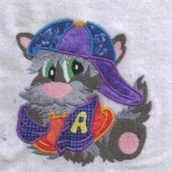 Hat Dog embroidery design