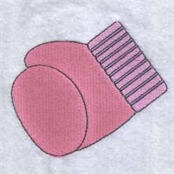 Cancer Glove embroidery design
