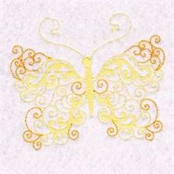Beautiful Butterfly Swirls embroidery design