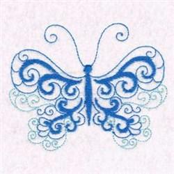 Butterfly Beauty Swirls embroidery design