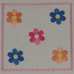 Bloom Bottom embroidery design