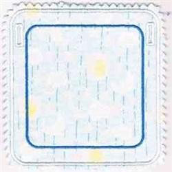 Banner Square embroidery design