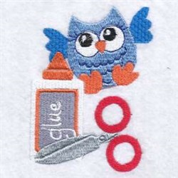 Craft Owl embroidery design