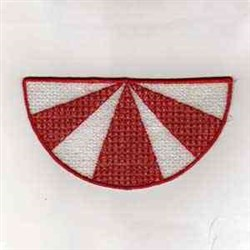Canada Wedge embroidery design