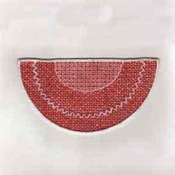 Canada Banner Wedge embroidery design
