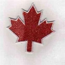 Canada Leaf embroidery design