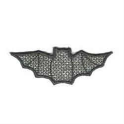 Hanger Bat embroidery design