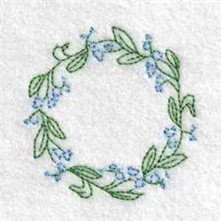Blooming Jar Lid embroidery design