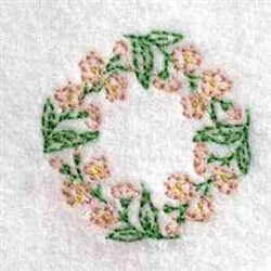 Blooming Canning Lid embroidery design