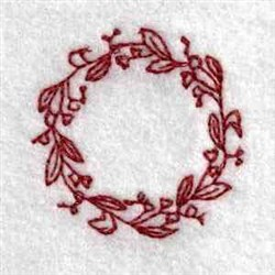 Floral Can Top embroidery design