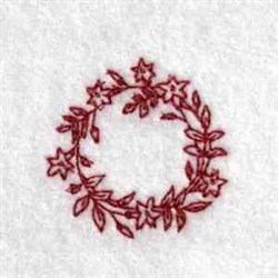 Blooming Can Top embroidery design