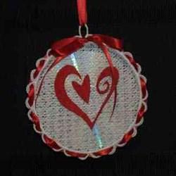 Sun Catcher Heart embroidery design