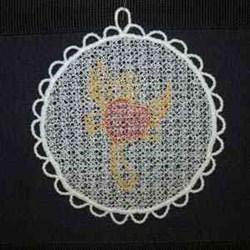 Sun Catcher embroidery design