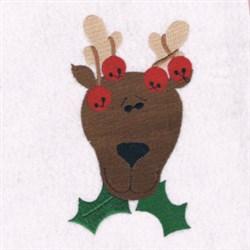 Christmas Reindeer embroidery design