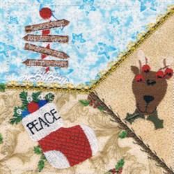 Sign Square embroidery design