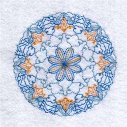 Color Circle embroidery design