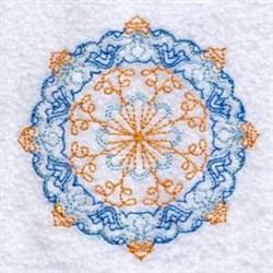 Decorative Circle embroidery design