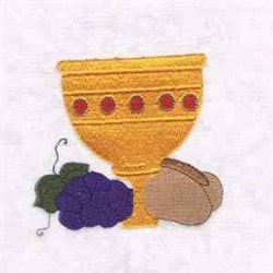Communion Cup embroidery design