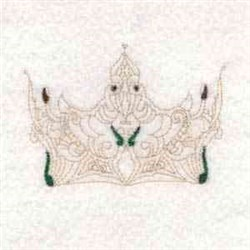Crown Royalty embroidery design