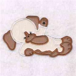 Hello Puppy embroidery design