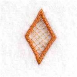 Charm Diamond embroidery design