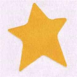 Nursery Star embroidery design