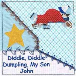 Son John Quilt Square embroidery design