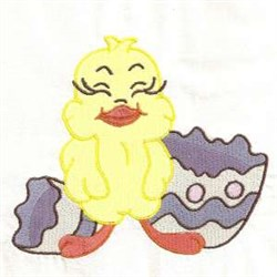Hatch Chick embroidery design