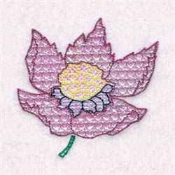 Mylar Floral embroidery design