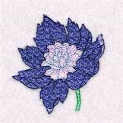 Flower Mylar embroidery design