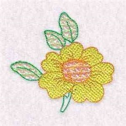 Blossom Mylar embroidery design