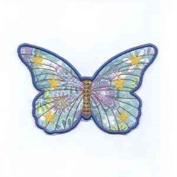 Forever Butterfly embroidery design
