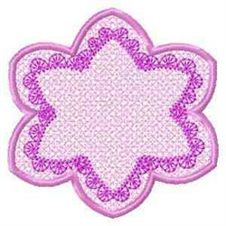 FSL Banner Flower embroidery design