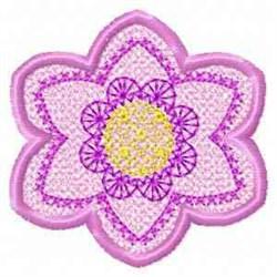 FSL Banner Spring Flower embroidery design