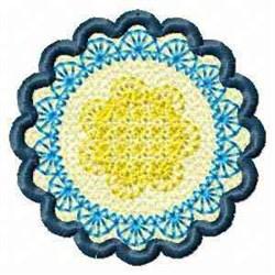 FSL Banner Spring Floral embroidery design
