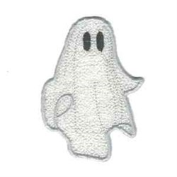 Applique Ghost embroidery design