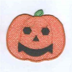 Applique Pumpkin embroidery design