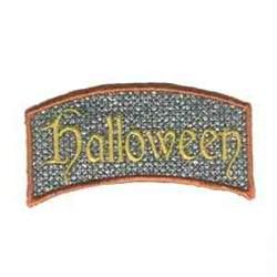 Halloween Applique embroidery design