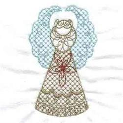 Golden Fairy embroidery design