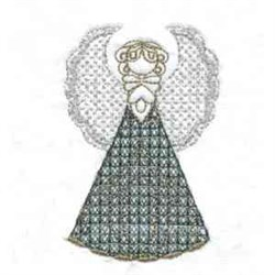 Angel Dress embroidery design